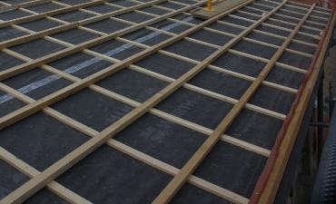 Mise en place double littelage lors d'une réfection de toiture
