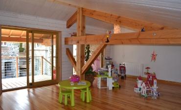 Menuiserie, plancher traditionnel et lambris